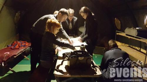 mobilne pokoje zagadek śląskie, imprezy integracyjne śląskie, gry integracyjne śląskie, gry scenariuszowe śląskie, team building śląskie